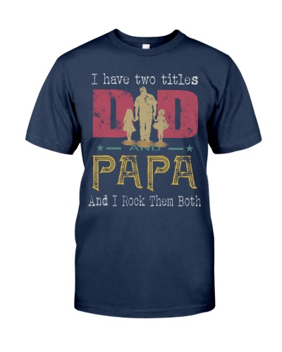 Dad and Papa titles