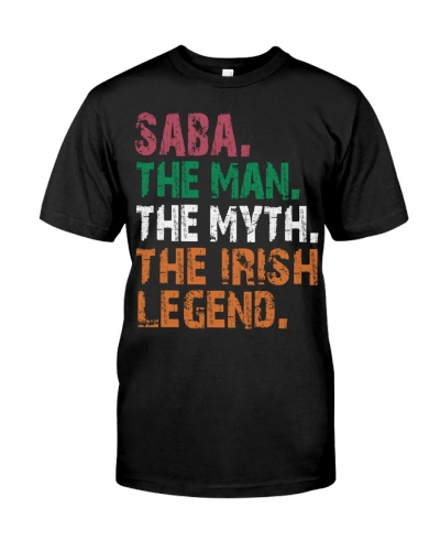 Saba - The Man The Myth The Irish Legend