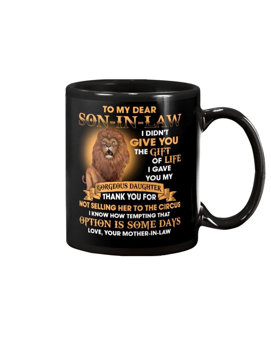 To my Son-in-law - Love Mother-in-law Mug