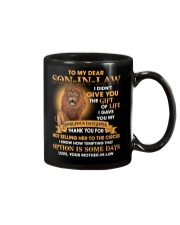 To my Son-in-law - Love Mother-in-law Mug front