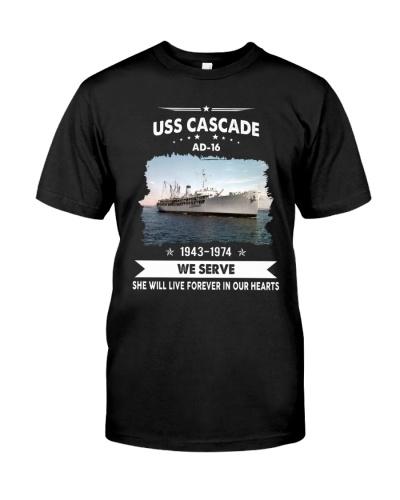 USS Cascade AD16