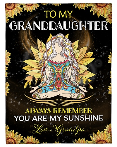 To my Granddaughter - Grandpa