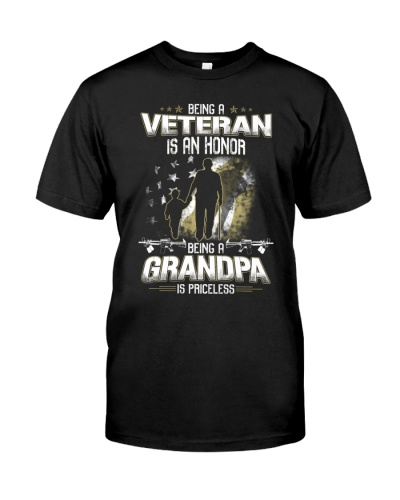 VETERAN - BEING A GRANDPA IS PRICELESS