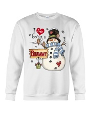 I LOVE BEING A GRAMMY - Christmas Gift Crewneck Sweatshirt thumbnail