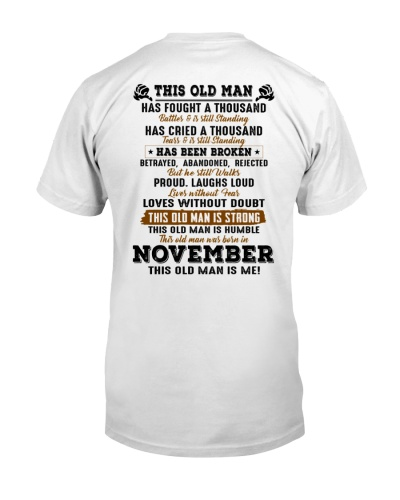 This Old Man was born in November