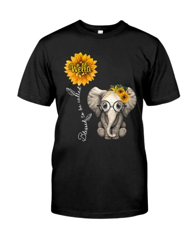 Blessed to be called Wella - Cute Elephant