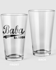 Baba - Est  16oz Pint Glass front