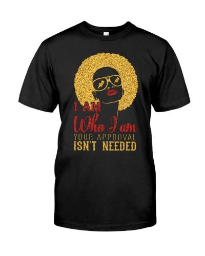 I am Who I am - Black woman
