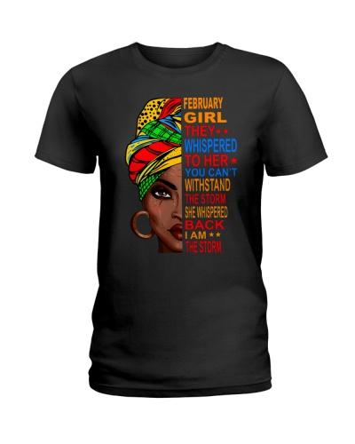 February Girl - I am the Storm