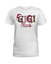 Gigi Claus Christmas Art Ladies T-Shirt thumbnail