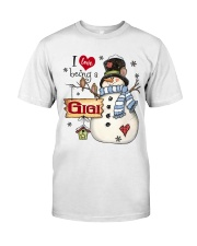 I LOVE BEING A GIGI - Christmas Gift Classic T-Shirt thumbnail