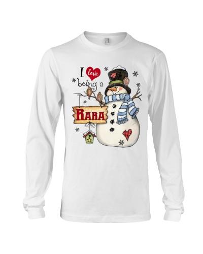 I LOVE BEING A RARA - Christmas Gift