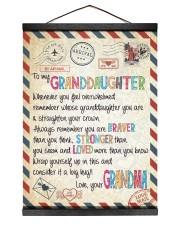Love Grandma - GD v2BL 12x16 Black Hanging Canvas thumbnail