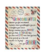 """Love Grandma - GD v2BL Quilt 40""""x50"""" - Baby thumbnail"""