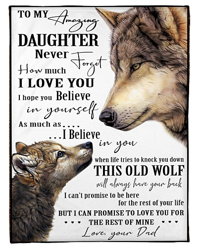 Daughter - Dad - Wolf Edition