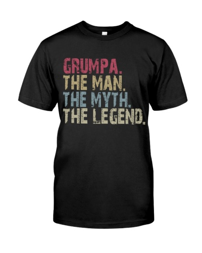 Grumpa - The Man The Myth The Legend Ever