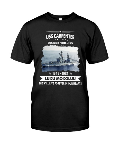 USS Carpenter DD 825
