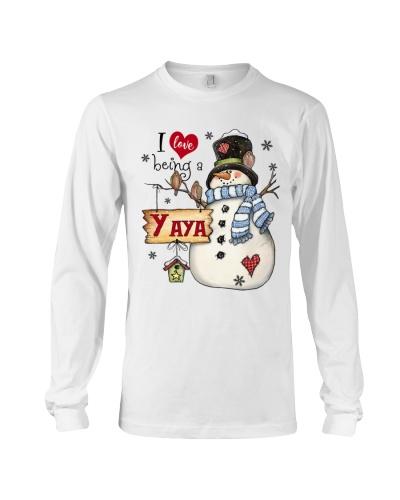 I LOVE BEING A YAYA - Christmas Gift