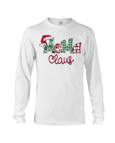 Mema Claus Christmas Art