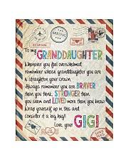 "Love Gigi - GD v2BL Quilt 40""x50"" - Baby thumbnail"
