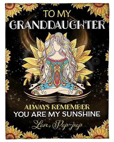 To my Granddaughter - Pop-pop