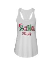 Nana Claus Christmas Art Ladies Flowy Tank thumbnail