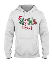 Nana Claus Christmas Art Hooded Sweatshirt thumbnail