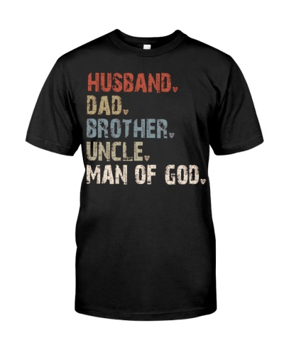 Husband-Dad-Brother-Uncle-Man Of God