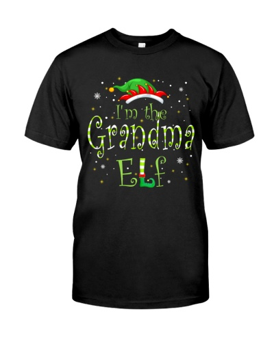 I Am The Grandma Elf - New