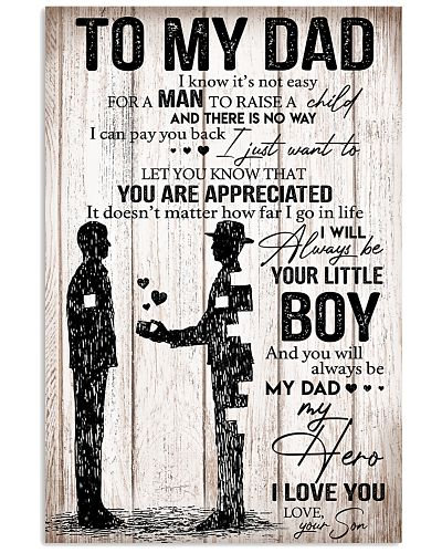 TO MY DAD - POSTER