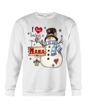 I LOVE BEING A NANA - Christmas Gift Crewneck Sweatshirt thumbnail
