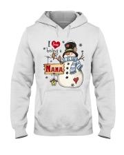 I LOVE BEING A NANA - Christmas Gift Hooded Sweatshirt thumbnail