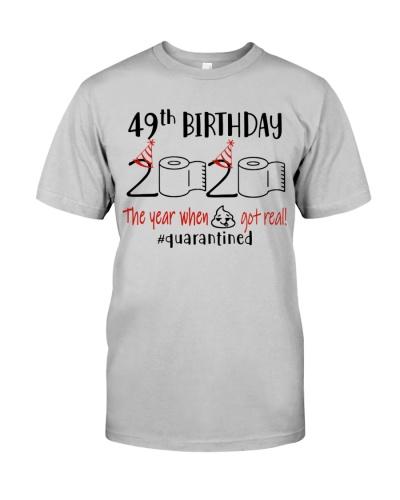 49th Birthday 1971 - Toilet Paper Quarantined