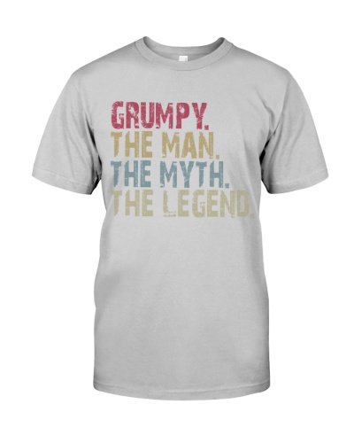 Grumpy - The Man The Myth The Legend