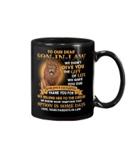 To our Son-in-law - Love Parents-in-law Mug front