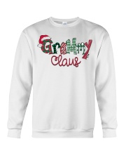 Grammy Claus Christmas Art Crewneck Sweatshirt thumbnail