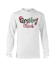 Grammy Claus Christmas Art Long Sleeve Tee front