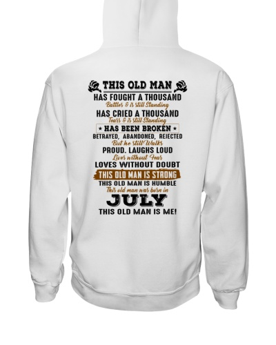 This Old Man was born in July