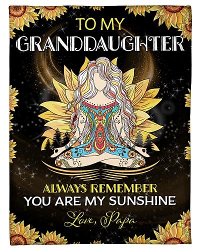 To my Granddaughter - Papa