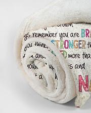 "Love Nana - GD v2BL Small Fleece Blanket - 30"" x 40"" aos-coral-fleece-blanket-30x40-lifestyle-front-18"