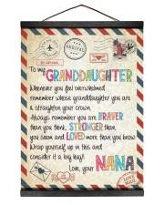 Love Nana - GD v2BL 12x16 Black Hanging Canvas thumbnail