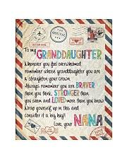 """Love Nana - GD v2BL Quilt 40""""x50"""" - Baby thumbnail"""