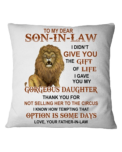 To my Son-in-law - Love Father-in-law v2