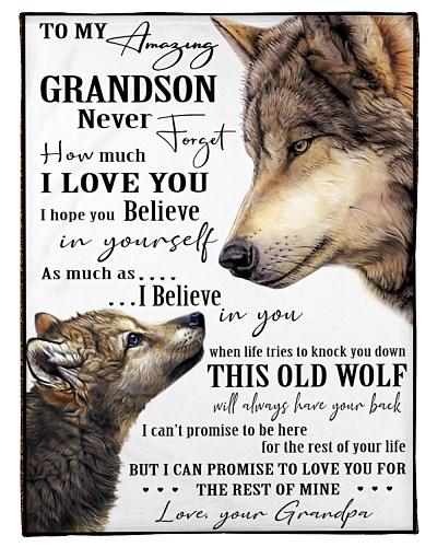 Grandson - Grandpa - Wolf Edition