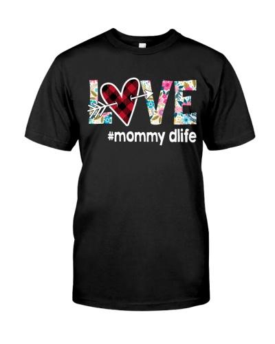 Love Mommy D Life - Flower Arrow Heart