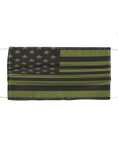 Us Military Green  Flag - New FM