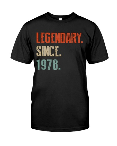 Legendary since 1978