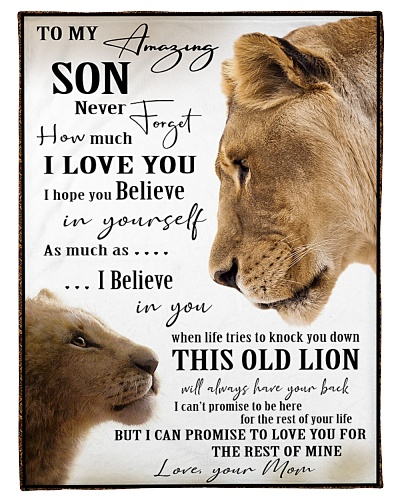 To my Son - Love your Mom