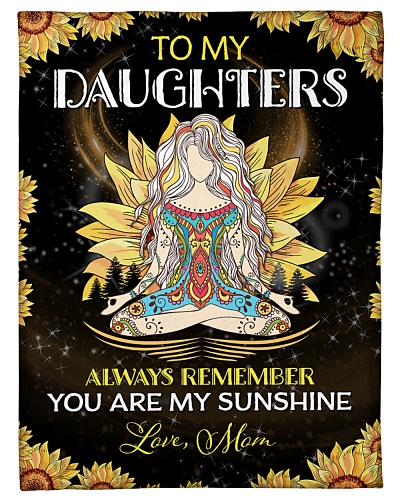 To my Daughters - Mom