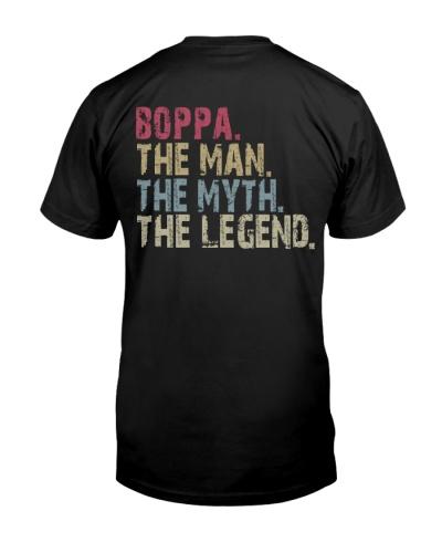 Boppa - The Man The Myth The Legend - Backside